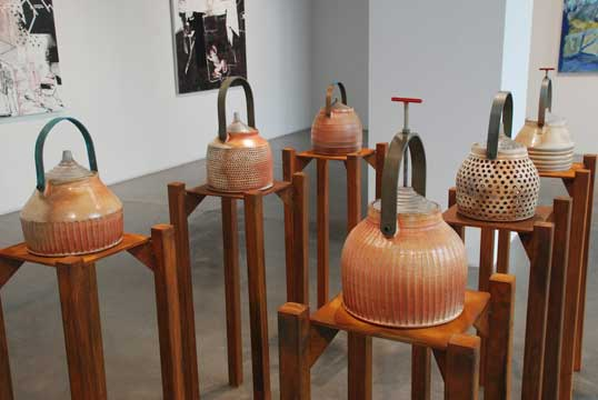 industrial temple jars, Richard Burkett
